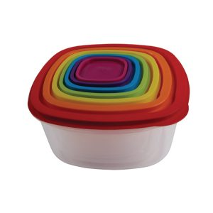Rainbow-food-container